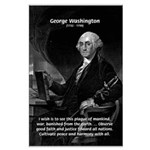 President George Washington Large Poster
