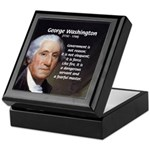 Politics: George Washington Keepsake Box