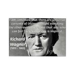 Musician Richard Wagner Rectangle Magnet