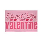 Edward Twilight Valentine Rectangle Magnet