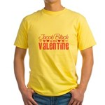 Jacob Twilight Valentine Yellow T-Shirt