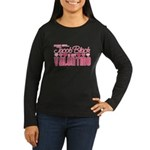 Jacob Black Valentine Women's Long Sleeve Dark T-S