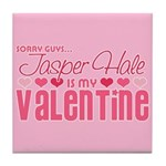 Jasper Twilight Valentine Tile Coaster
