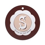 Market Sister of the Bride Ornament (Round)