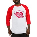 Edward Cullen Heart Baseball Jersey