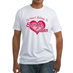 Emmett Cullen Heart Fitted T-Shirt