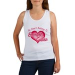Emmett Cullen Heart Women's Tank Top