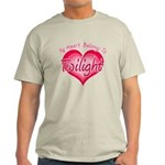 Heart Belongs Twilight Light T-Shirt
