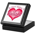Heart Belongs Twilight Keepsake Box