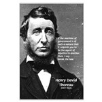 Philosophy / Nature: Thoreau Large Poster