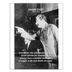 Joseph Stalin Revolution Small Poster