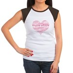 Twilight Heart Women's Cap Sleeve T-Shirt