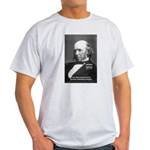 Evolutionist Herbert Spencer Ash Grey T-Shirt