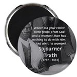 Lincoln with Sojourner Truth Magnet