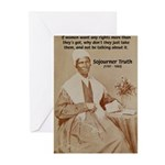 Feminist Sojourner Truth Greeting Cards (Package o