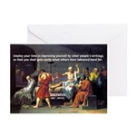 Socrates: Knowledge Books Wisdom Greeting Cards (P