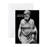 Wisdom of Socrates Greeting Cards (Pk of 10)