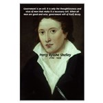 Romantic Writer: Percy Shelley Large Poster