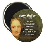 "Novelist Mary Shelley 2.25"" Magnet (100 pack)"