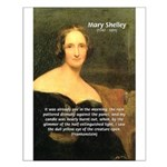 Writer Mary Shelley Small Poster