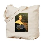 Writer Mary Shelley Tote Bag