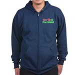 Bite Me I'm Irish Zip Hoodie (dark)