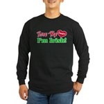 Bite Me Emmett Long Sleeve Dark T-Shirt