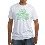 Twilight Shamrock Fitted T-Shirt