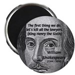 William Shakespeare Magnet
