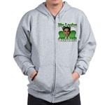 Obama My Lucky Charm Zip Hoodie