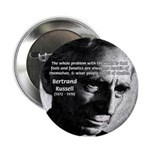 Philosopher Bertrand Russell Button