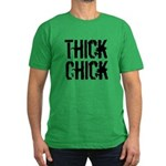 Thick Chick Men's Fitted T-Shirt (dark)