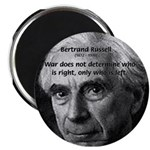 "Bertrand Russell 2.25"" Magnet (100 pack)"