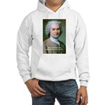 Philosopher Rousseau Hooded Sweatshirt