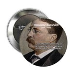 """President Theodore Roosevelt 2.25"""" Button (10 pack"""