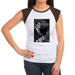 President Ronald Reagan Women's Cap Sleeve T-Shirt