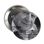 "Open Society: Karl Popper 2.25"" Button (10 pack)"