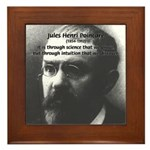 Theoretical Science Poincare Framed Tile