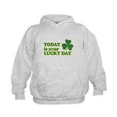 Today Is Your Lucky Day Kids Hoodie