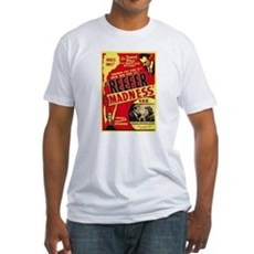 Vintage Reefer Madness Fitted T-Shirt