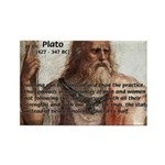 Plato: Philosophy / Equality Rectangle Magnet (100