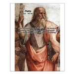 Music and Plato Small Poster