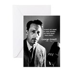 Animal Farm: George Orwell Greeting Cards (Package