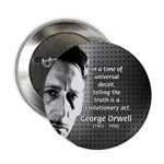 "Novelist George Orwell 2.25"" Button (100 pack)"