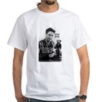 Politics / Language: Orwell White T-Shirt