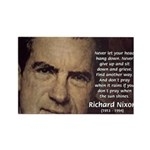Inspiration President Nixon Rectangle Magnet (100