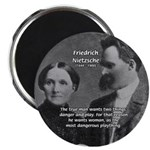 Man and Woman: Nietzsche Magnet