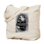 Christian Morality / Nietzsche Tote Bag