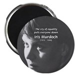 "Iris Murdoch Equality 2.25"" Magnet (10 pack)"