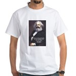 Union of Workers: Marx White T-Shirt